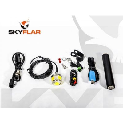 SKYFLAR MULTI -FUNCTION LED STROBE LIGHT 10-30V + Li-Ion Battery Pack (Special Intro Kit Price)